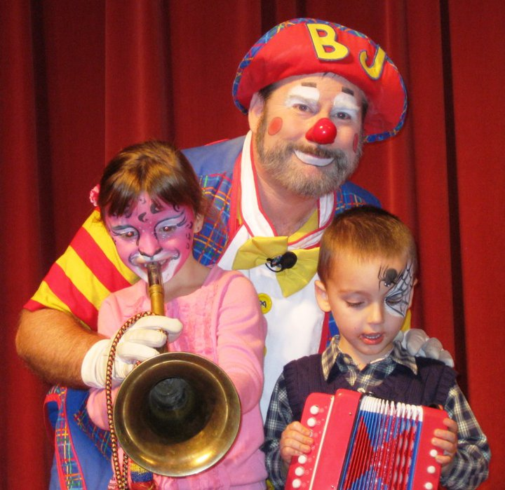 Home Page For Bj The Clown Portland Vancouver Beaverton